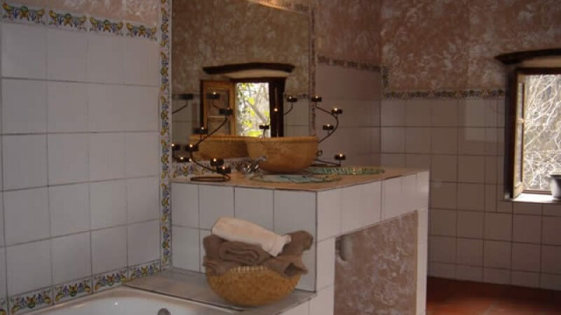 Large bathroom in Casa Andalucia
