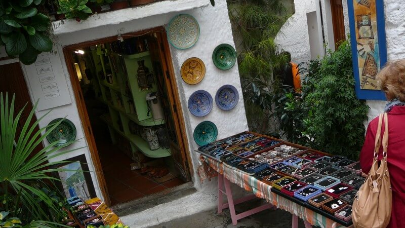 Little shop in the Village of Pampaneira